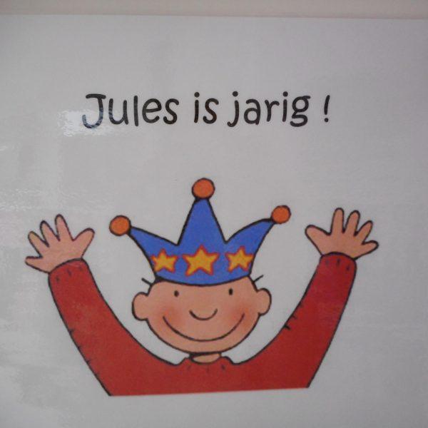 Vlinderklas : Jules is jarig!