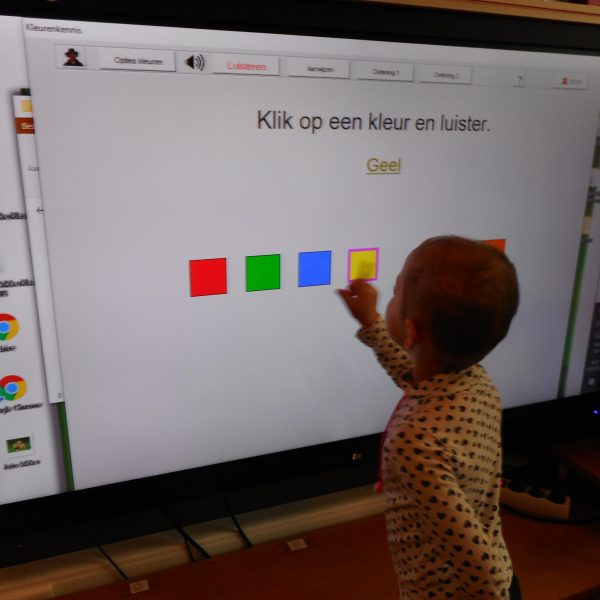 Kikkerklas: mooie  kleuren!
