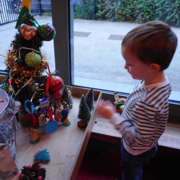 Kikkerklas: Thema kerst