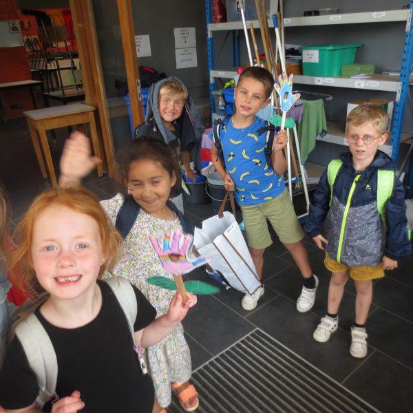 Laatste schooldag in de giraffen- en olifantenklas