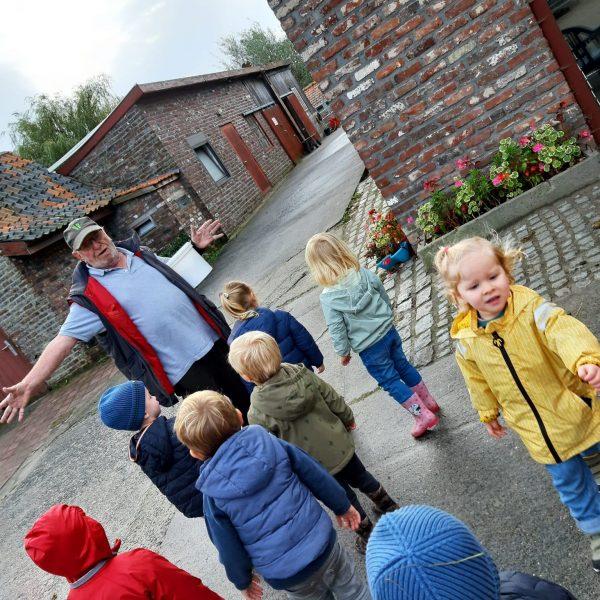 Vlinderklas: wij gaan naar de kinderboerderij!