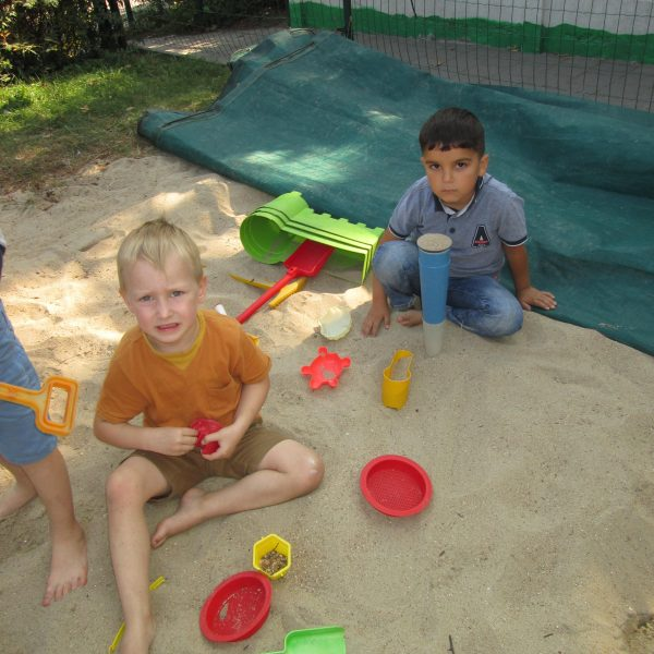 3K : Olifanten -, Giraffen -, en Berenklas buitenspeeldag