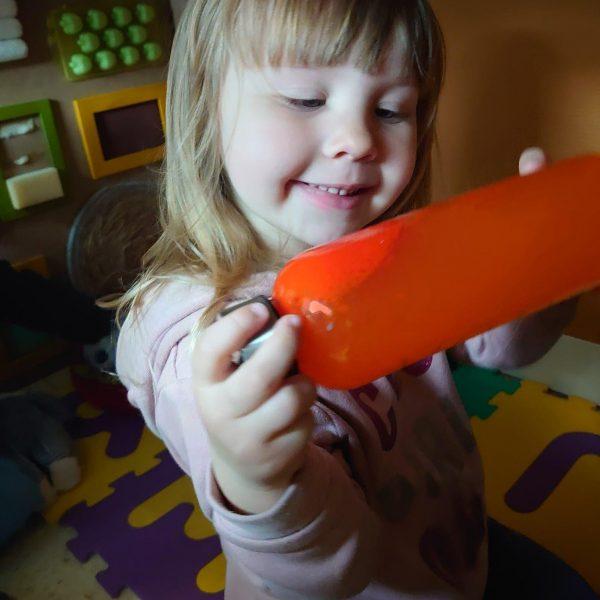 Dolfijnenklas: Met mijn handjes ga ik voelen