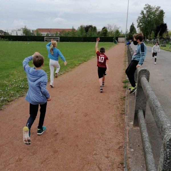Sportdag vierde leerjaar