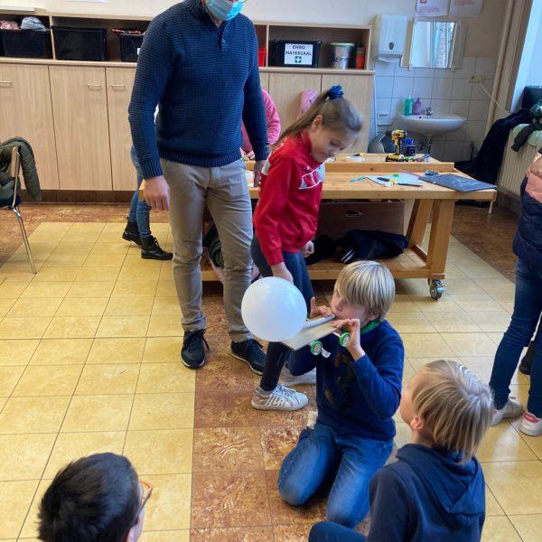 Techniek: ballonwagentje