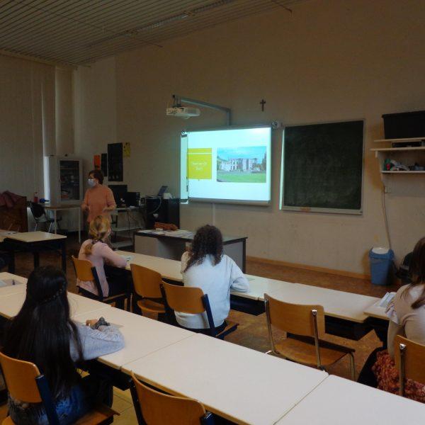 bezoek van het Rhizo-college Zwevegem